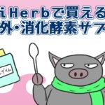 iHerbで買える消化酵素サプリ。消化の負担を軽減し日々の生活の質を高めよう【海外サプリ】
