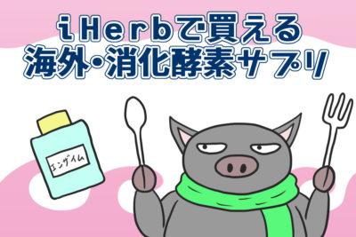 iHerbで買える海外・消化酵素サプリ