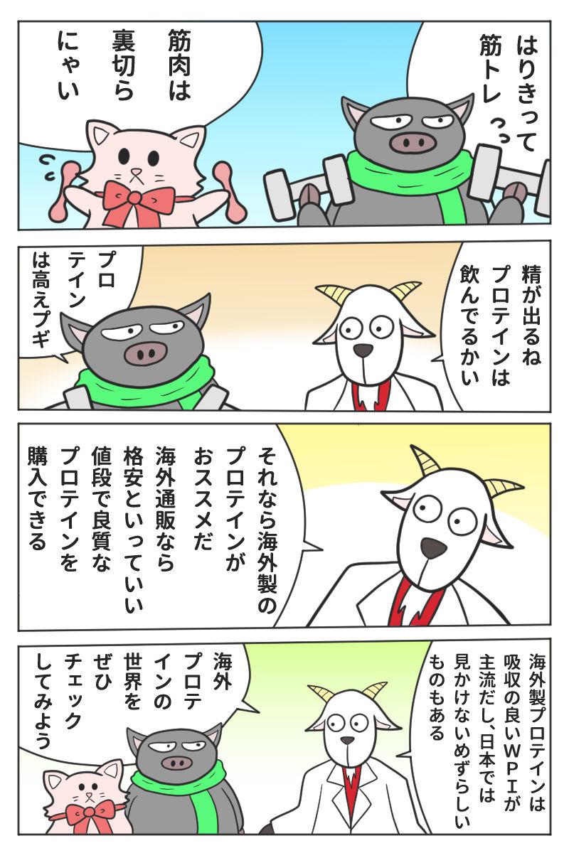 格安で良質な海外プロテインのススメ【マンガ・iHerb】