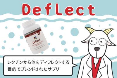 Deflect レクチンから体をディフレクトする目的でブレンドされたサプリ